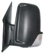 VW Crafter Van [06-16] Complete Manual Adjust Wing Mirror Unit